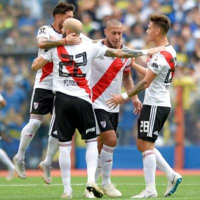 Boca, River draw 2-2 in first leg of Libertadores Cup final