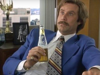 Kind Of A Big Deal: Ron Burgundy's Getting His Own Podcast