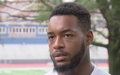 Homeless DC student with an offer to play college football is offered a place to live after his high school team banned him over residency rules