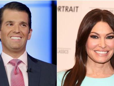 Fox News host Kimberly Guilfoyle is leaving the network to campaign for Trump with her boyfriend, Donald Trump Jr