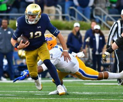 Notre Dame, Ian Book stay cool under pressure in comeback win over Pittsburgh