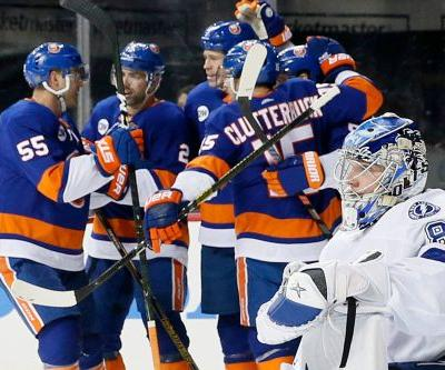 The Islanders' fourth line is again living up to its old hype