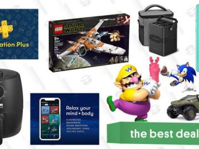 Thursday's Best Deals: RAVPower Portable Power Station, VPN Unlimited + PlayStation Plus, LEGO Star Wars X-Wing, Bella Air Fryer, Ella Paradis Spring Cleaning Sale, and More