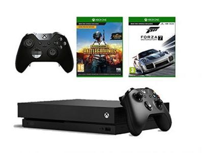 This Xbox One X two games, two pads bundle gets you 4K gaming for under £500