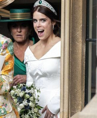 This Photo Of Princess Eugenie's Second Wedding Dress Is As Beautiful As The First