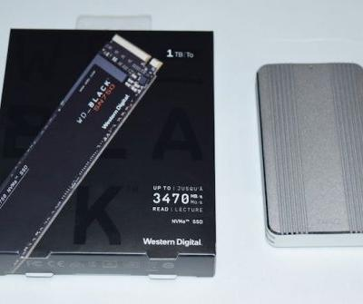 Quick Look: Using WD's Black SN750 SSD as a Thunderbolt 3 External Drive
