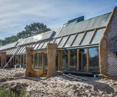 Latin America's First Earthship is a Sustainable School Built from Found Materials