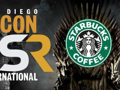 Game of Thrones Fan Cosplays as Coffee Cup for Comic Con