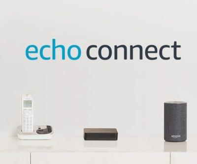 What is Amazon Echo Connect and how does it make calls?
