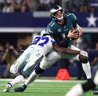 Eagles' losses getting uglier as offense, defense self-destruct against Cowboys