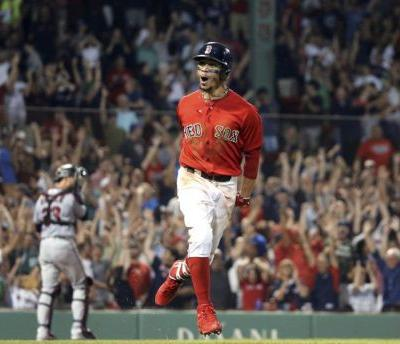 Red Sox star Mookie Betts named American League MVP