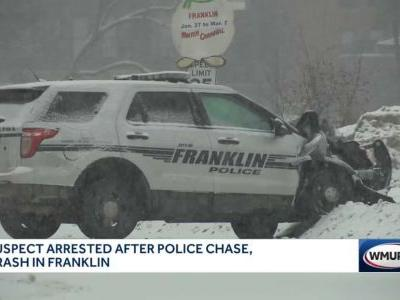Man charged in connection with high-speed police chase through Franklin