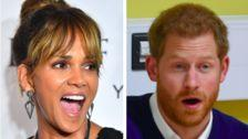 Halle Berry Cheekily Calls Out Prince Harry For Having Her Picture On His Dorm Wall