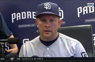 Andy Green after 5-1 Padres win
