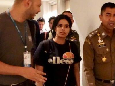 Saudi teen who barricaded herself in Bangkok airport to escape family who 'consider me as property' has reportedly passed a test that means she can't be sent back