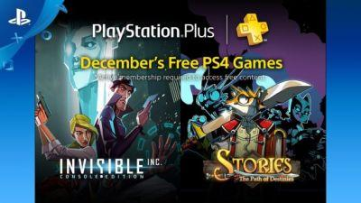 Every PS4, PS3 and Vita game you can download for free in December