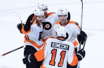 Claude Giroux scores in OT, Flyers beat Senators 3-2