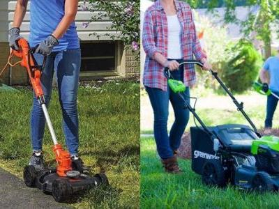 Amazon's Mowing Down the Prices on Several Electric Lawnmowers, Today Only