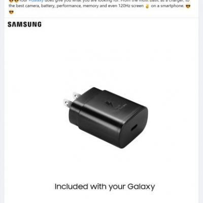 Samsung Mocks Apple For Ditching The iPhone's Power Adapter
