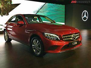 2018 Mercedes-Benz C-Class Facelift Launched No Petrol Engines For Now