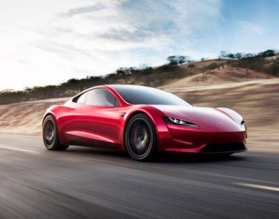 New Tesla Roadster Unveiled, 0 to 60 In 1.9 Seconds