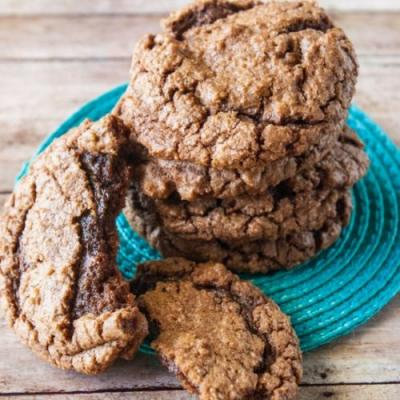 Chewy Chocolate Chip Brownie Cookie