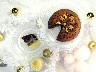 BBC Good Food's Easy Christmas Pudding - pressurecookerized