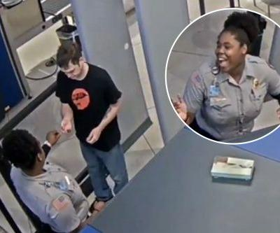 'You ugly!!!': Airport guard fired for slipping mean note to random traveler