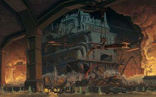 Mortal Engines - The Gut- final stage