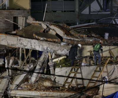 Mexican officials: No girl trapped in collapsed school
