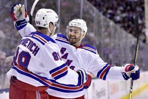Strome. Georgiev help Rangers beat Maple Leafs 2-1 in OT
