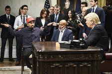 Kanye West and Donald Trump's Oval Office Meeting Gets the 'SNL' Cold Open Treatment: Watch