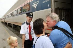 Amtrak riders between St. Louis and Chicago are still waiting for 90 and 110 mph speeds