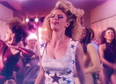 Netflix reveals 'GLOW' premiere date with a glorious homage to the '80s