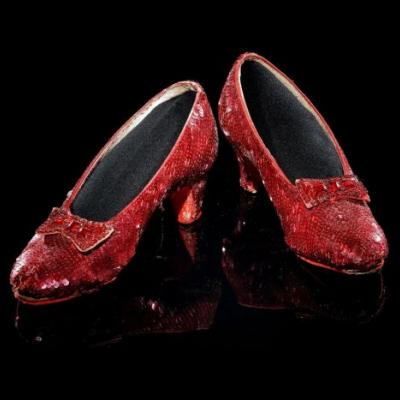 Dorothy's ruby slippers will return to the National Museum of American History on Oct. 19