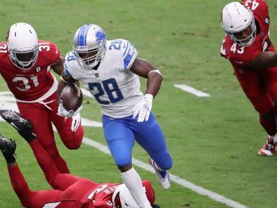 Lions' version of Adrian Peterson isn't 'All Day' anymore as NFL's second-oldest running back