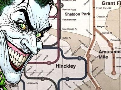 Joker's Gotham Subway Map is Packed With Easter Eggs - Including Snyder and Nolan