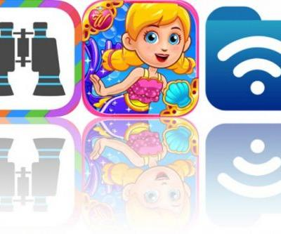 Today's Apps Gone Free: Binoculars, Wonderland: Little Mermaid and Phone Drive