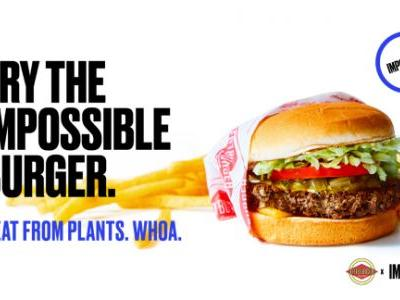 Impossible Foods will sell its improved meatless burger at select grocery stores