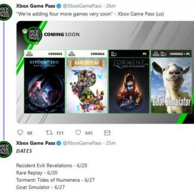 First Xbox Game Pass Ultimate titles post E3 announced