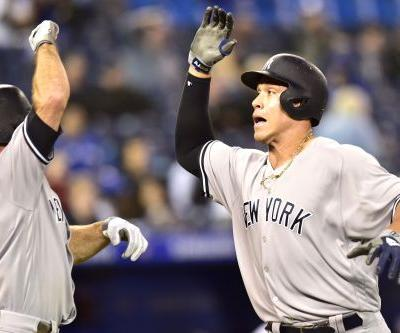 Aaron Judge, Giancarlo Stanton belt HRs in 12th to fuel Yankees