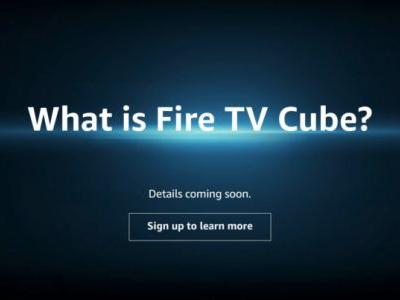 Mysterious Amazon page hints at forthcoming Fire TV Cube