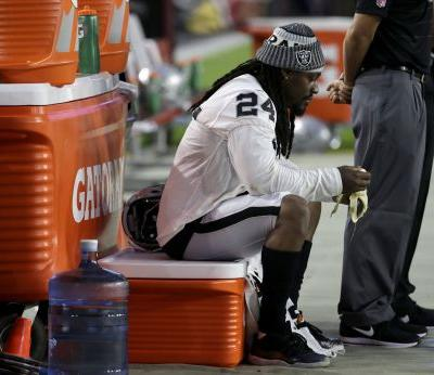 Trump wants the NFL to suspend Marshawn Lynch next time he sits during the anthem