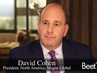 Magna's Cohen On A Changing Cannes Festival, Creative Versioning