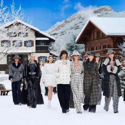 Chanel Stages a Winter Wonderland for Karl Lagerfeld's Final Show