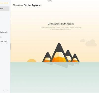 Popular Date-Based Note Taking App Agenda Expands to iOS
