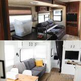 """This Couple Drastically Transformed Their Trailer, and the """"After"""" Photos Are Jaw-Dropping"""