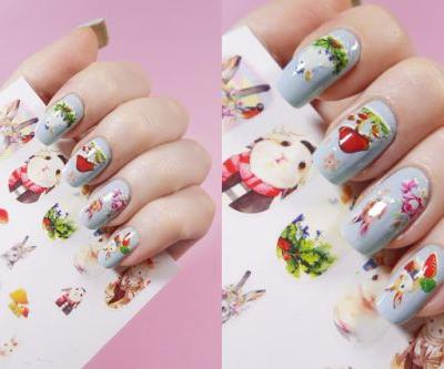 Cute Bunnies Nail Art | Easter Inspired NOTD
