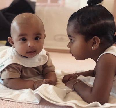 Baby Fever Alert! Kim Kardashian Shares New Photos of Psalm West Bonding With True Thompson: 'OBSESSED'