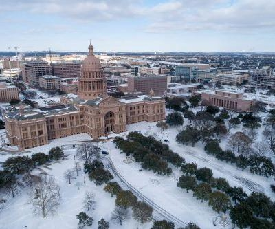 TikTokers pushing conspiracy theory that snow in Texas is 'fake'
